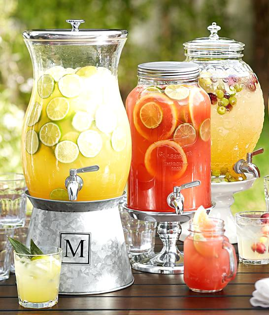 Monogramed beverage dispensers