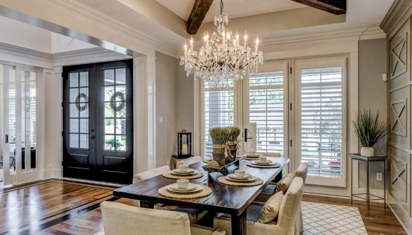 New home dining trends