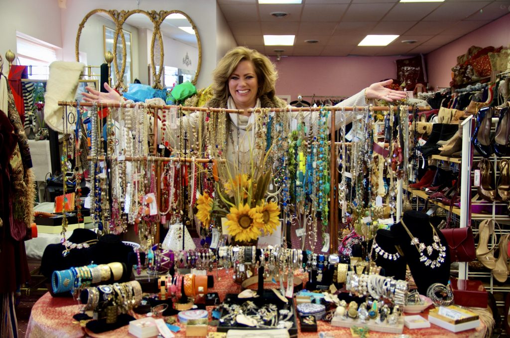Vida Kuhns owner of Saving Grace Boutique and Consignment store.
