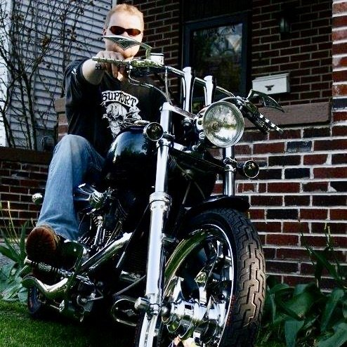 Motorcyclist Bryan Kilbury