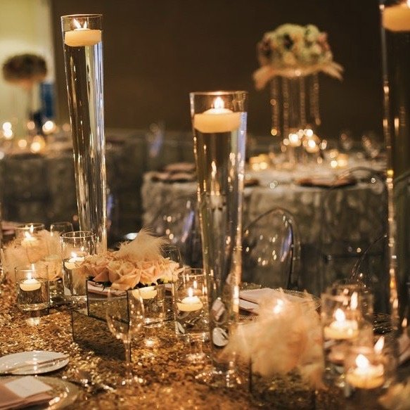 Luxury tablescape styling service. Practical Stylish Living party styling services.
