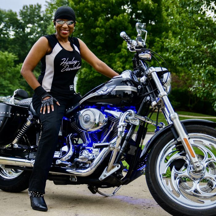 Kimberly R. Jones Kustom Motorsickle contest