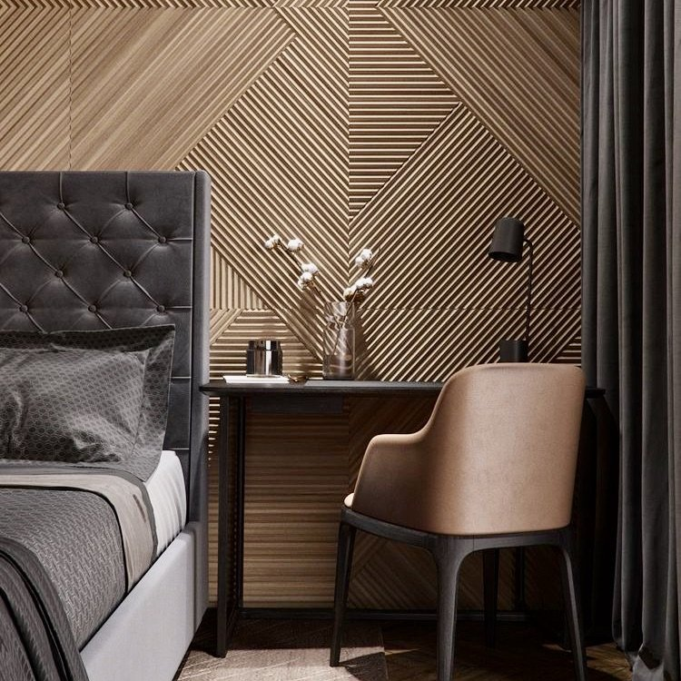 Practical Stylish Living accent wall ideas brown