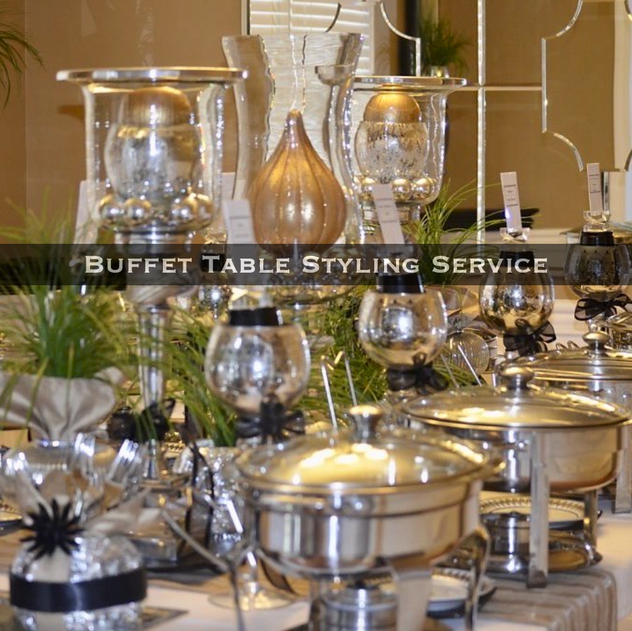Dessert Table styling service. Practical Stylish Living Party Styling Services.