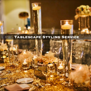 Practical Stylish Living tablescape styling service