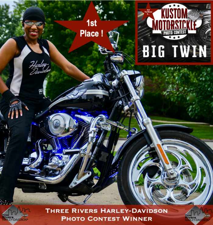 Three Rivers Harley Davidson Photo Contest Winner Kimberly R. Jones