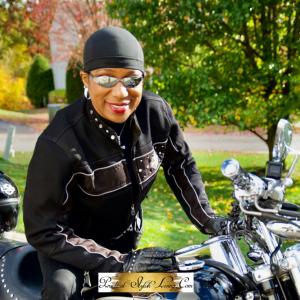 Kimberly R Jones interior designer motorcyclist
