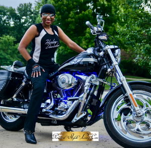 Kimberly R Jones motorcyclist